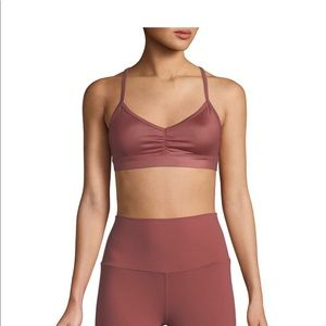 Alo Yoga sunny strippe M in earth color NWT